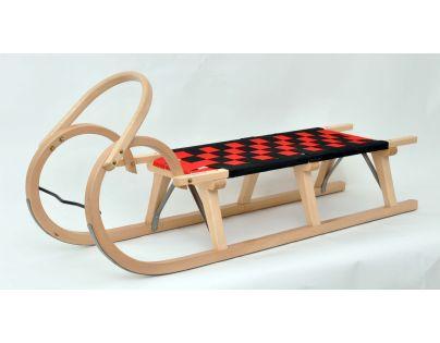 Praděd Sane drevené 125 cm lakované