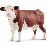 Schleich 13867 Zvířátko herefordská kráva