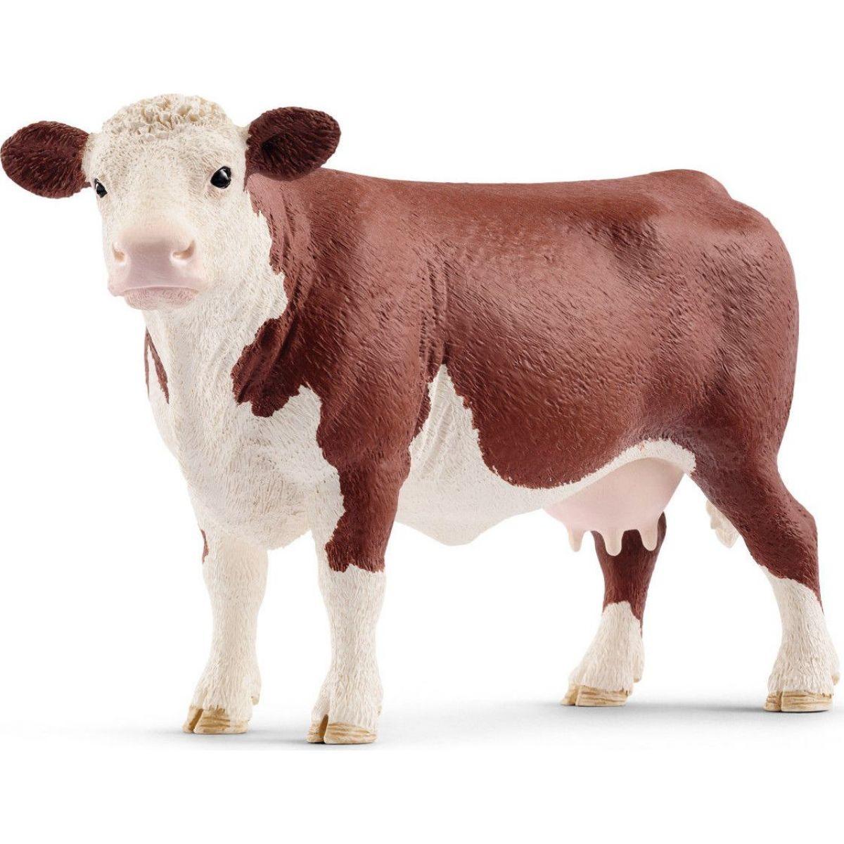 Schleich 13867 Zvieratko Herefordský krava