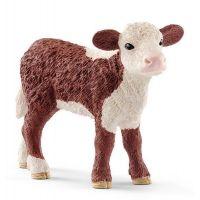 Schleich 13868 domáce zvieratko dobytok Herefordský teľa