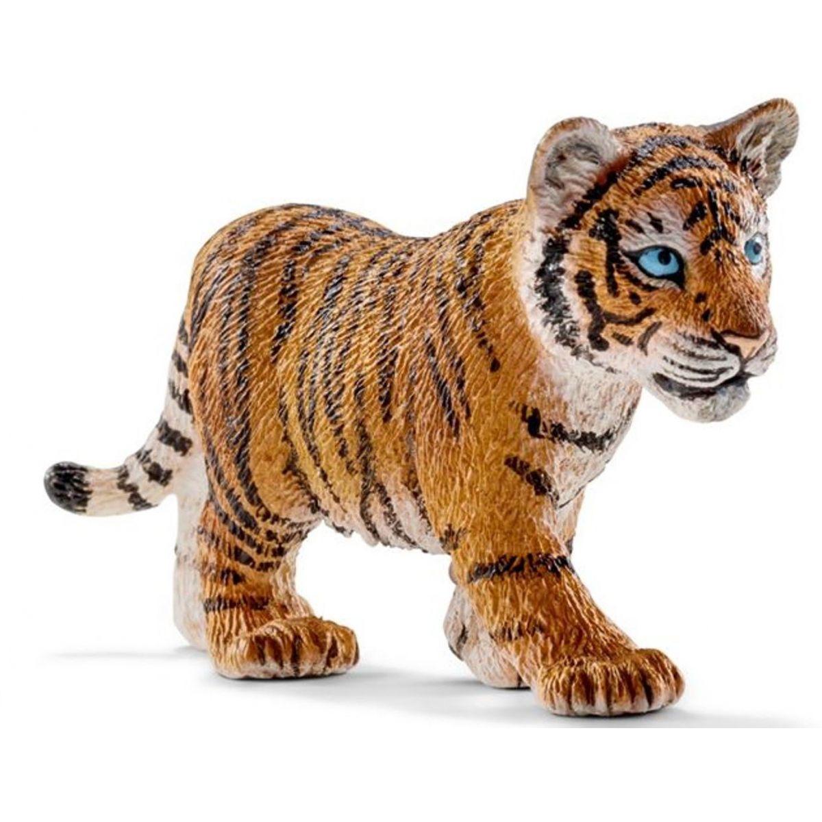 voda nie je bezpečným miestom pre mnoho zvierat pred hladným tigrom. Schleich je popredná firma vyrábajúca kvalitné realistické modely divokých