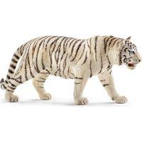 Schleich Tiger biely