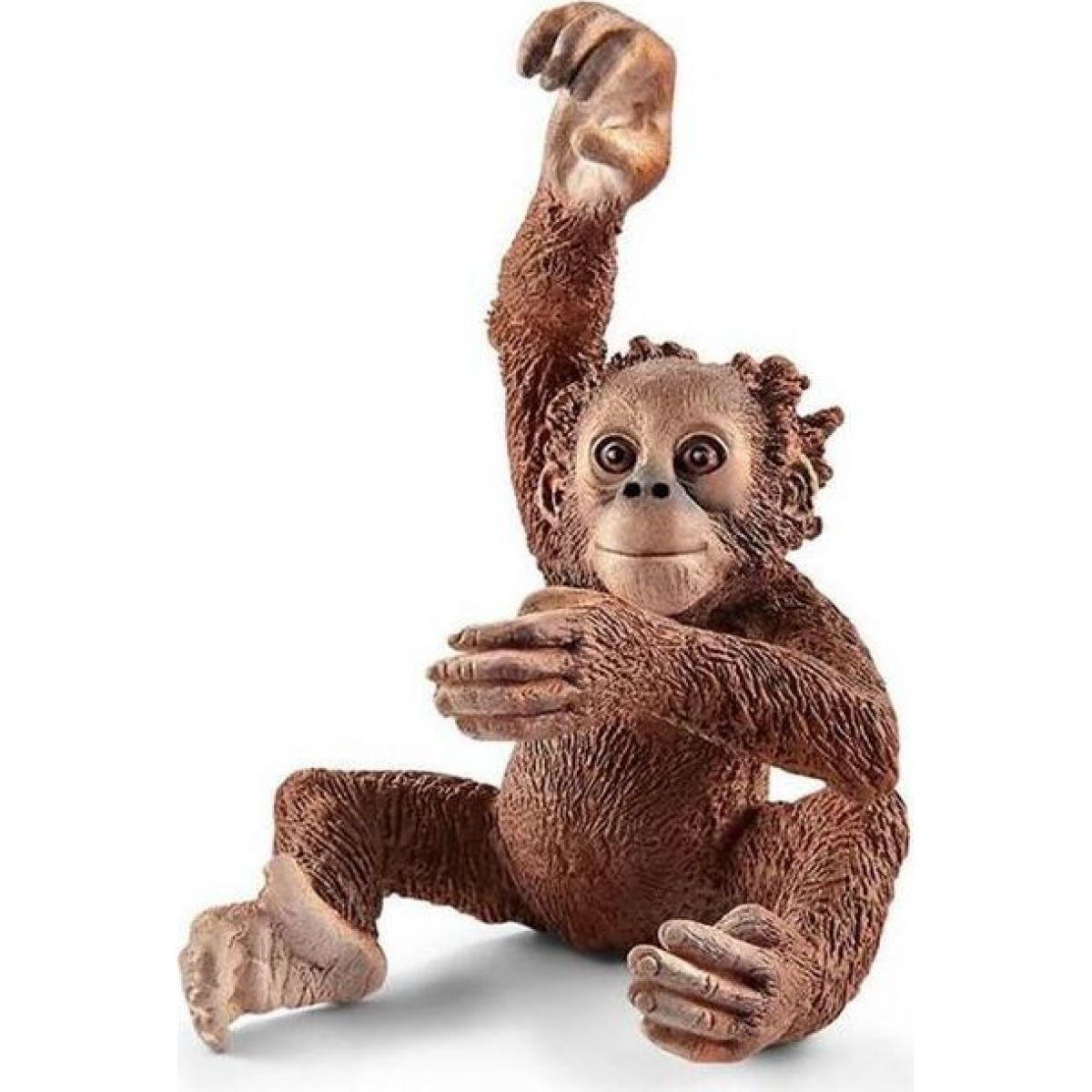 Schleich 14776 opica orangutan mláďa