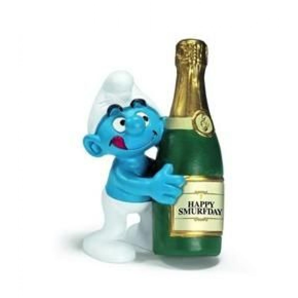 Schleich 20708 Šmoula se šampaňským