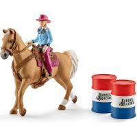 Schleich 41417 Osedlanie kôň s kovbojky