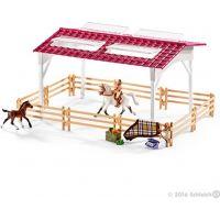 Schleich 42344 Stajňa s koňmi a príslušenstvom v pastelových farbách - Poškodený obal 4