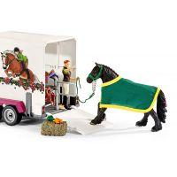 Schleich Pick up s prívesom a koňom - Poškozený obal 3