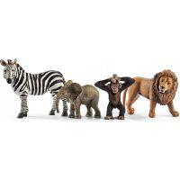 Schleich 42387 sada divokých zvieratiek 4ks