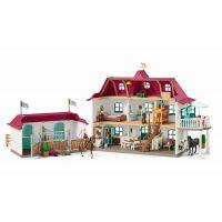 Schleich 42416 Veľký dom so stajňou a príslušenstvom