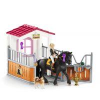 Schleich 42437 Stáj s koněm klubová Tori a Princess