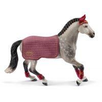 Schleich 42456 Turnajová kobyla trakénskeho koňa
