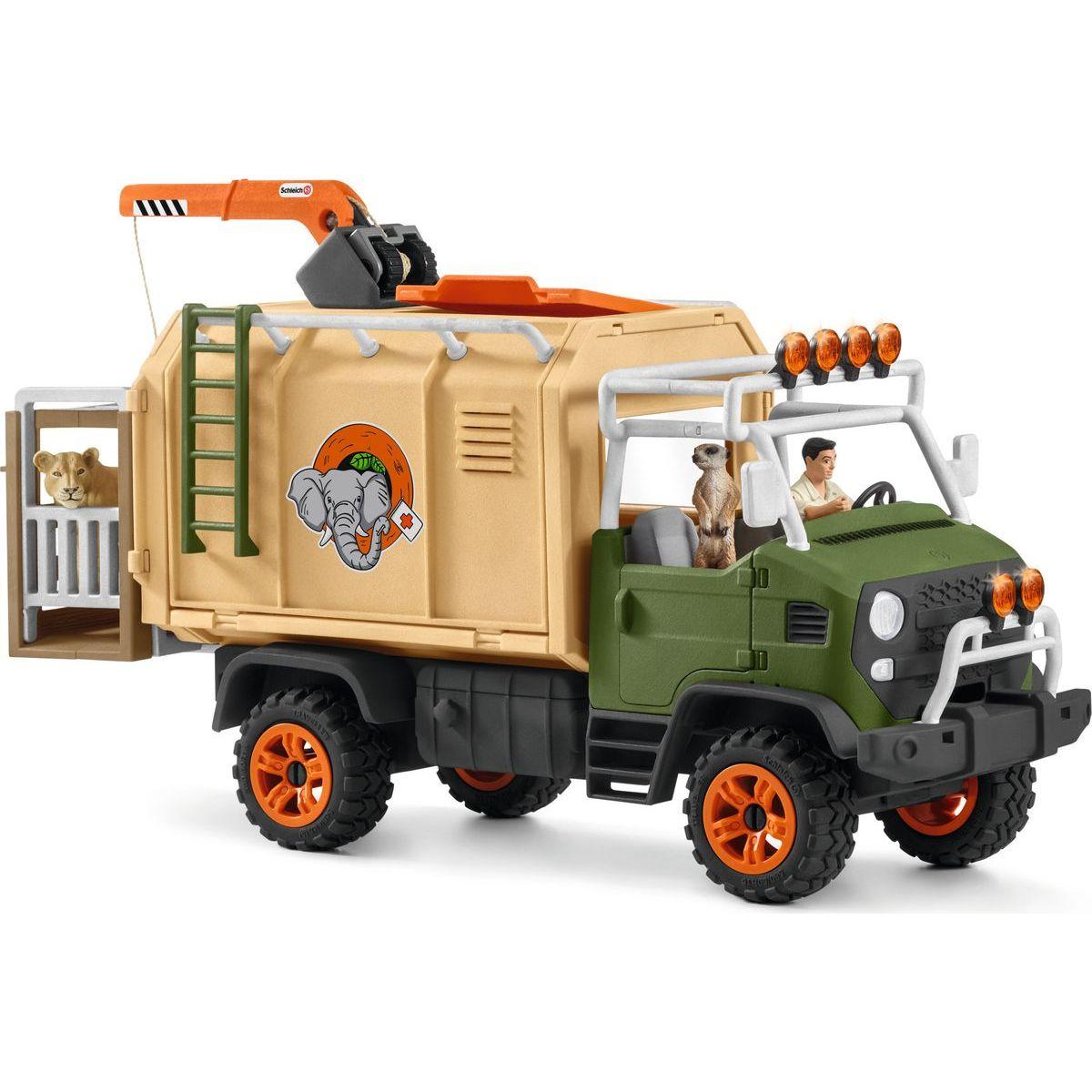 Schleich 42475 Veľký záchranný voz pre zvieratá