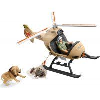 Schleich 42476 Záchranný vrtuľník pre zvieratá