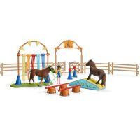 Schleich 42481 Tréning v agility pre poníky