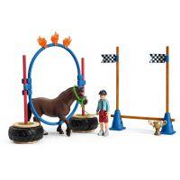 Schleich 42482 Závod v agility pre poníky