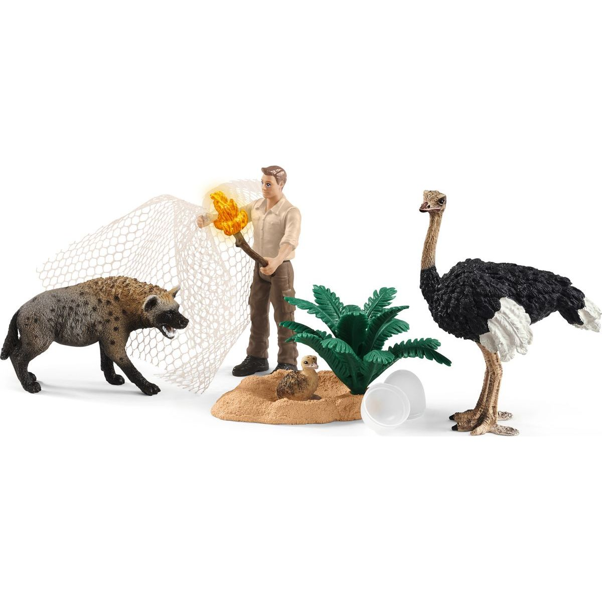 Schleich 42504 Odchyt hyeny