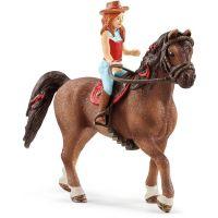 Schleich 42514 Ryšavka Hannah a kôň Cayenne
