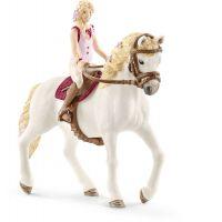 Schleich 42515 Blondína Sofia a kôň Blossom