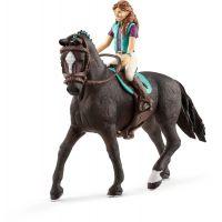 Schleich 42516 Hnedovláska Lisa a kôň Storm
