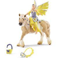Schleich 70503 Víla Sera ve slavnostním oděvu na koni 2