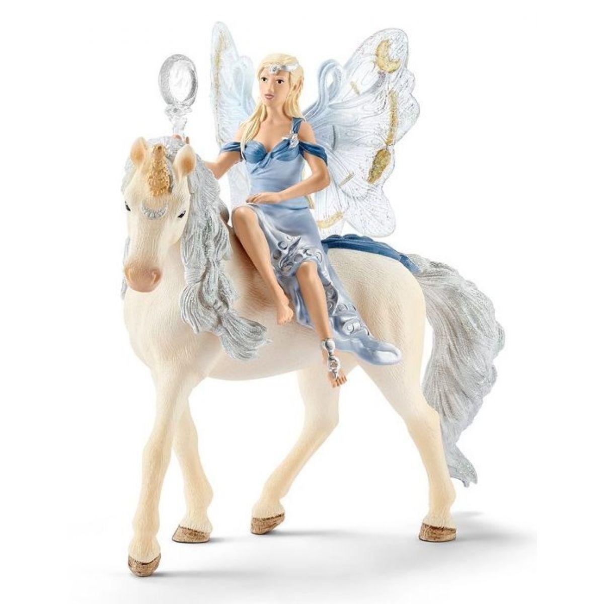 Schleich 70537 Elfi víla Lunaja na koňi