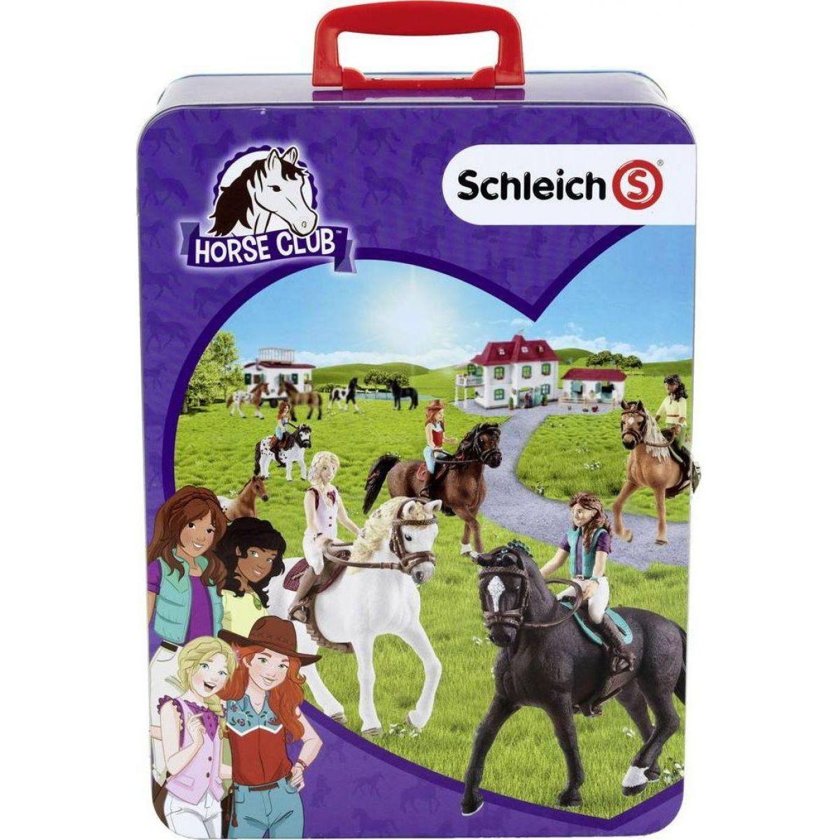 Schleich zberateľský kufrík - kone