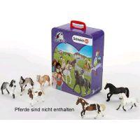 Schleich zberateľský kufrík - kone 3