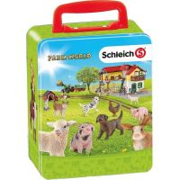 Schleich Sběratelský kufřík - zvířata