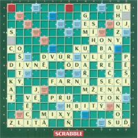 Mattel Scrabble Original CZ 2