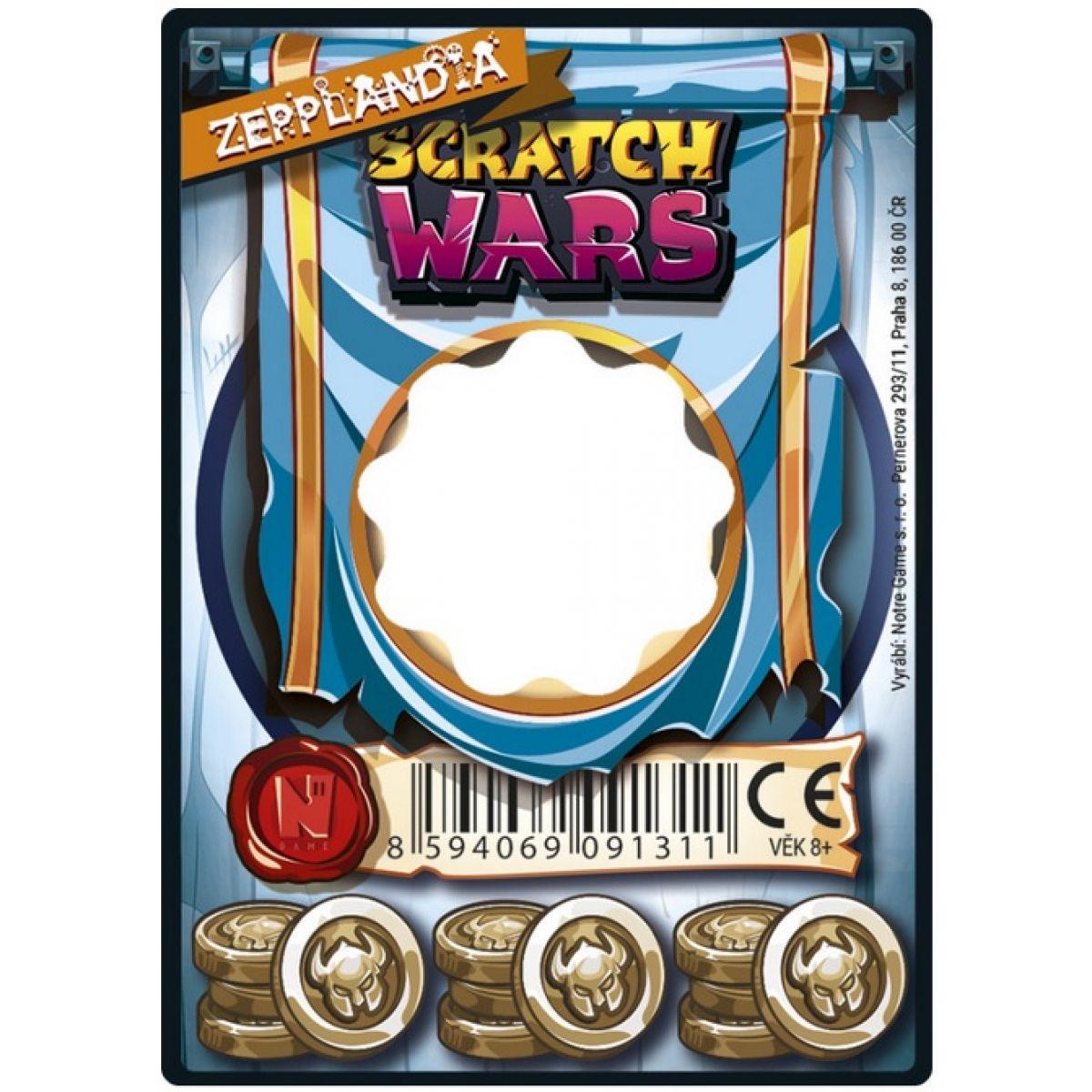 Scratch Wars Karta zbrane Zepplandia