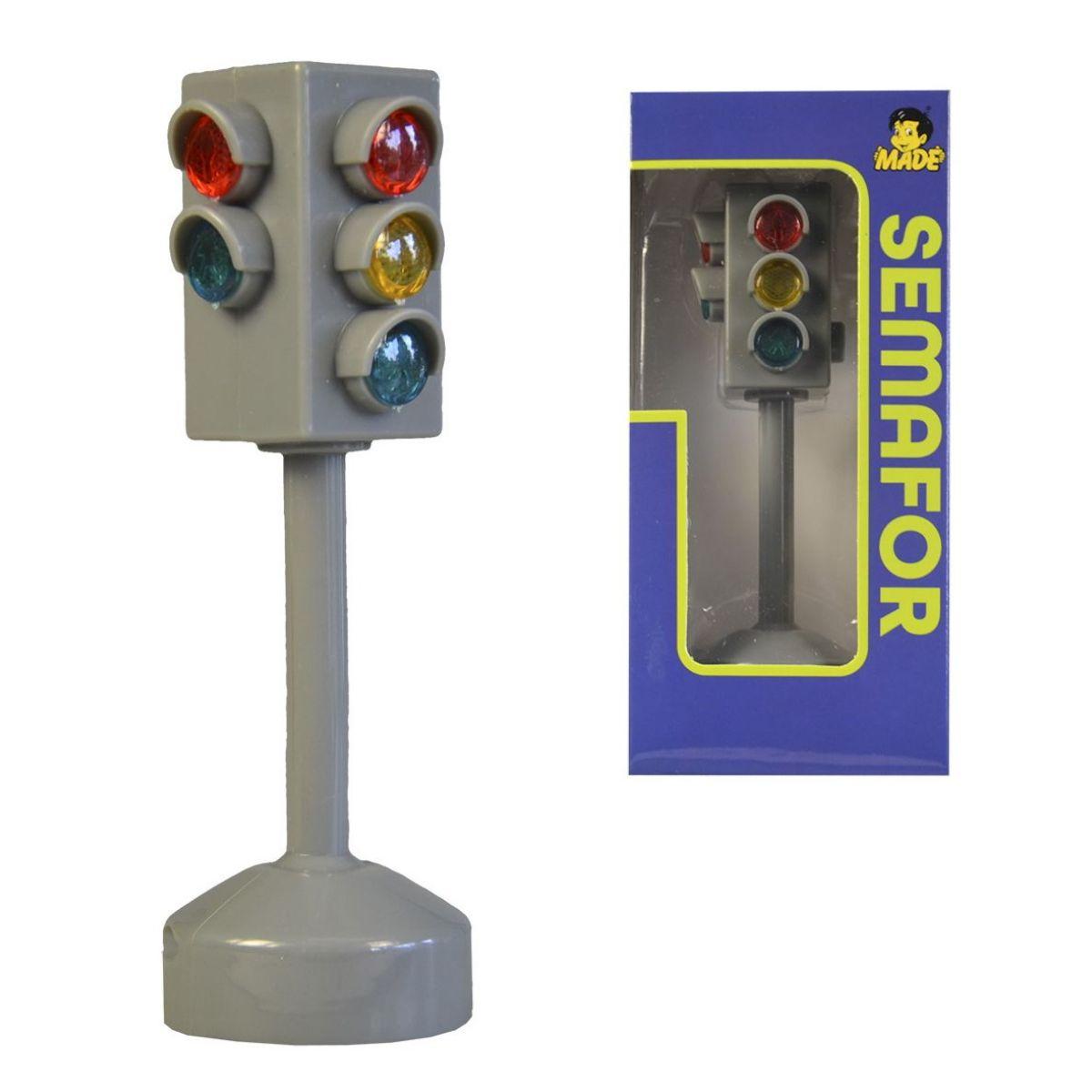 Semafor na batérie so svetlom a zvukom