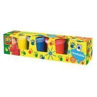 Ses Dětské prstové barvy 4 x 145 ml