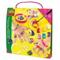 SES Malování módních prstýnků a náramků