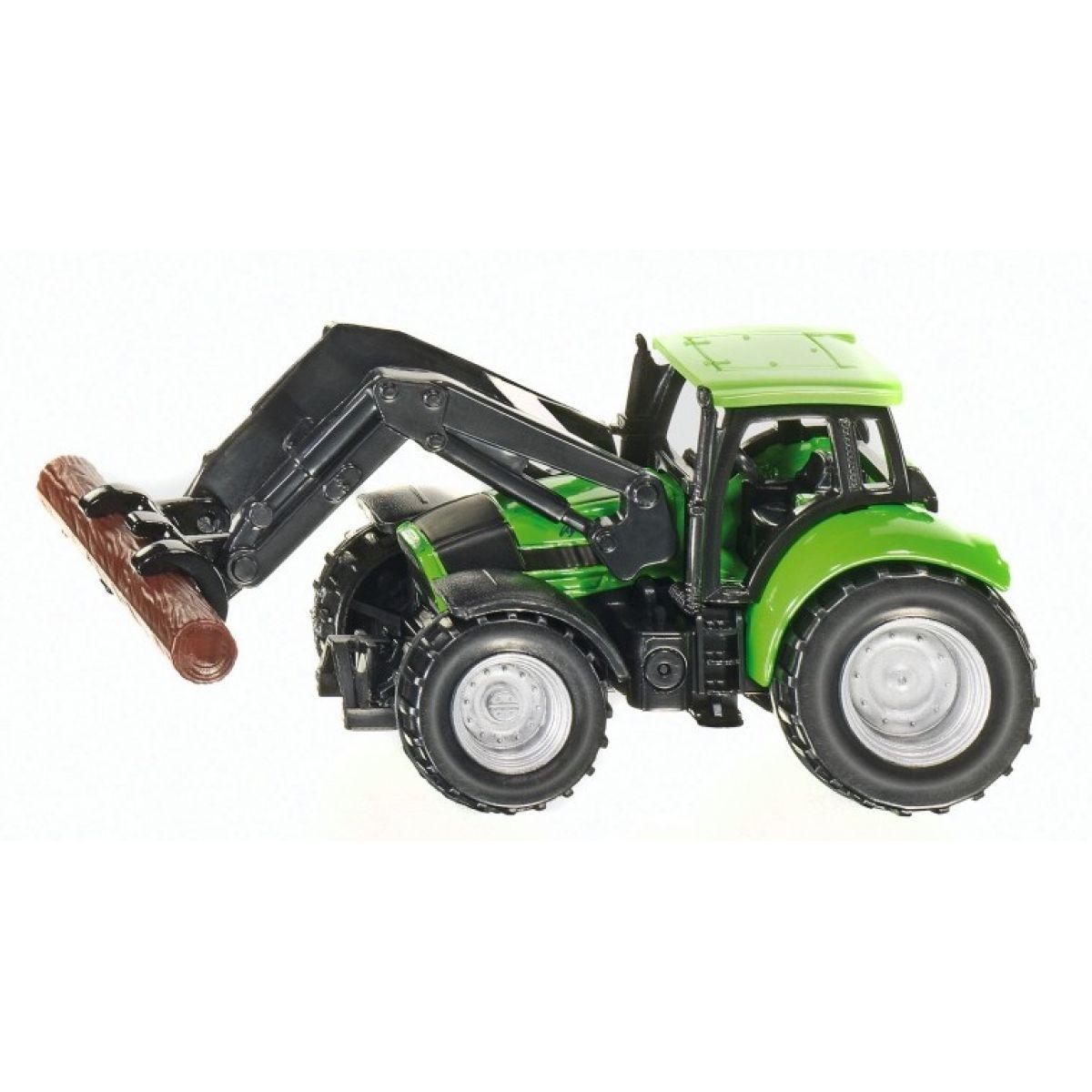 Siku 1380 Traktor s kliešťami na drevo