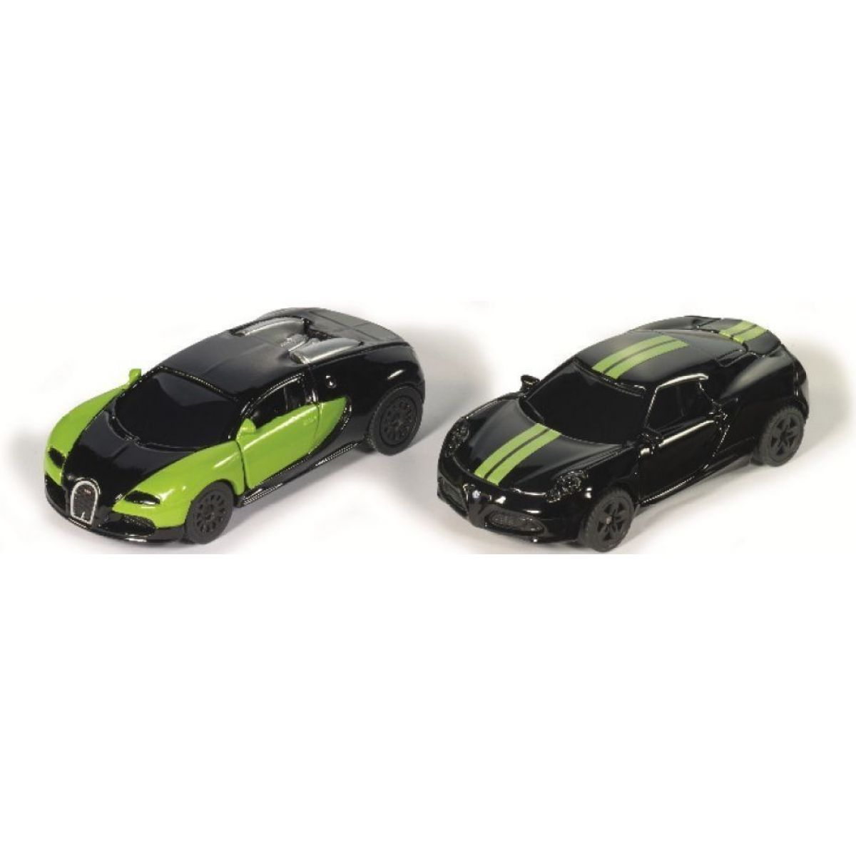 Siku blister 6309 čierno & zelená Special Edition