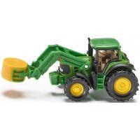 Siku Blister Traktor s předním nakadačem