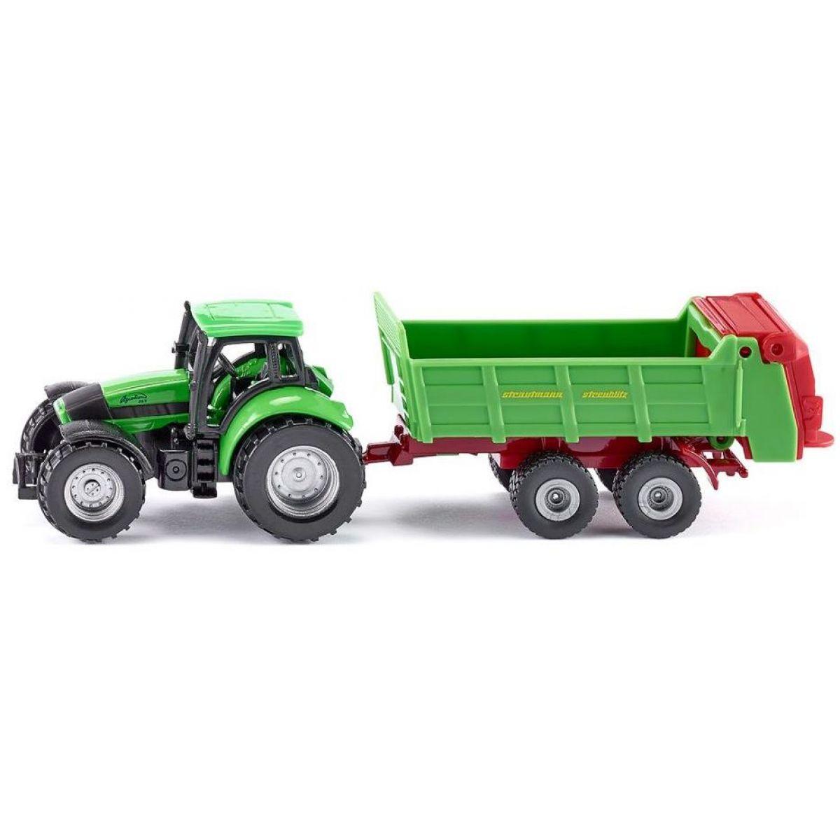 Siku Blister Traktor s univerzálnou vlečkou