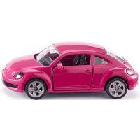 Siku Blister VW Beetle ružový s polepkama