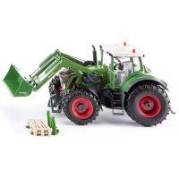 SIKU Control Traktor Fendt Vario s předním nakladačem 2