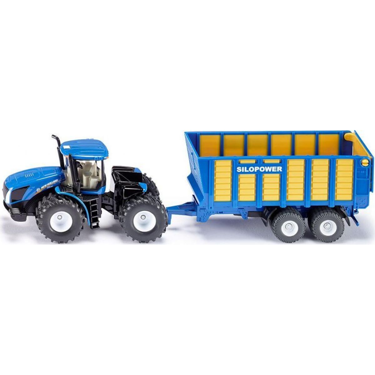 SIKU Farmer Traktor New Holland s prívesom Joskin 1:50