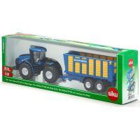 SIKU Farmer Traktor New Holland s prívesom Joskin 1:50 4