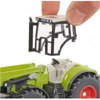 SIKU Traktor s p červená ným nakladačom a prívesom 1:50 6