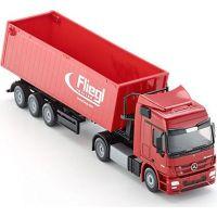 SIKU Kamión s vyklápacím vlekom červený 1:50 3