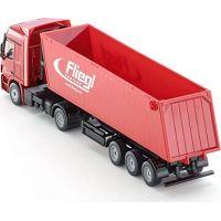 SIKU Kamión s vyklápacím vlekom červený 1:50 5