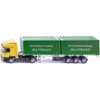 Siku Super LKW kamion se 2 kontejnery 3921 1:50
