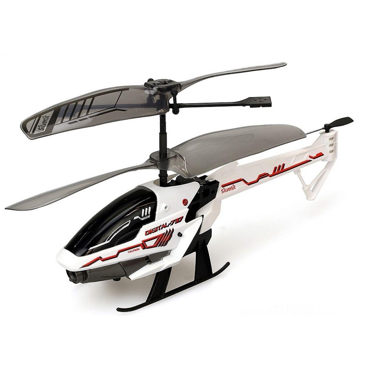 SILVERLIT RC helikoptéra Spy Cam III s kamerou biela