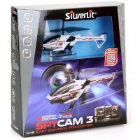 SILVERLIT RC helikoptéra Spy Cam III s kamerou biela 5