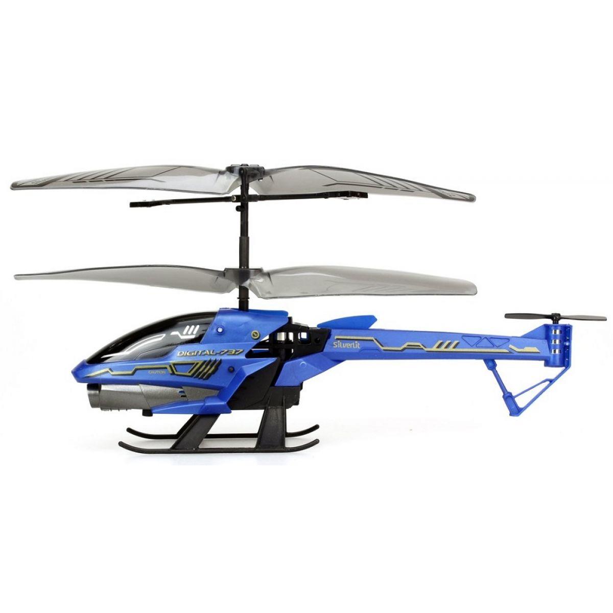 SILVERLIT RC helikoptéra Spy Cam III s kamerou modrá