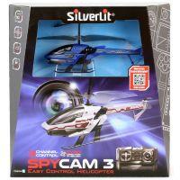 SILVERLIT RC helikoptéra Spy Cam III s kamerou modrá 4
