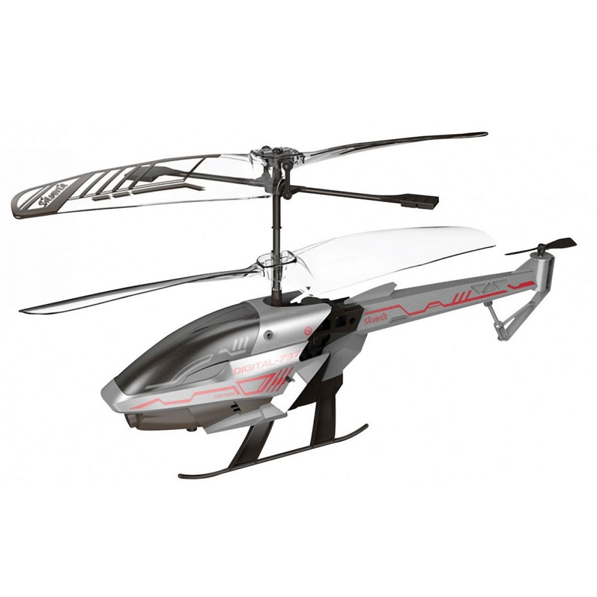 SILVERLIT RC helikoptéra Spy Cam III s kamerou šedá